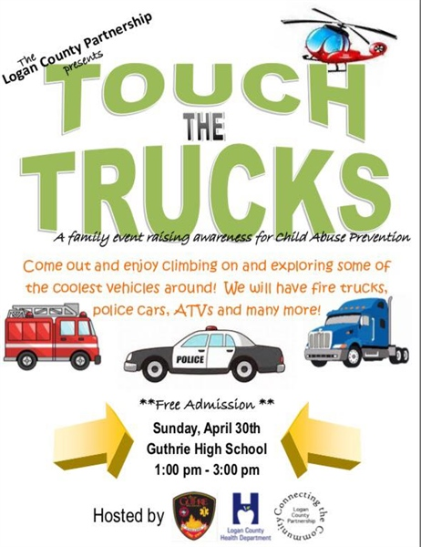 Touch the Trucks - April 30th